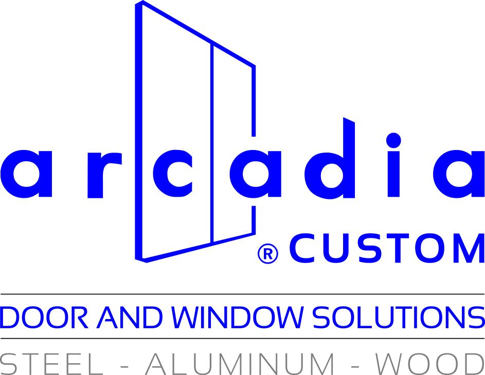 Arcadia Custom Logo Blue Gray Press File